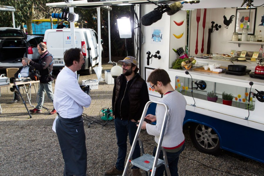 coulisses tournage France 3