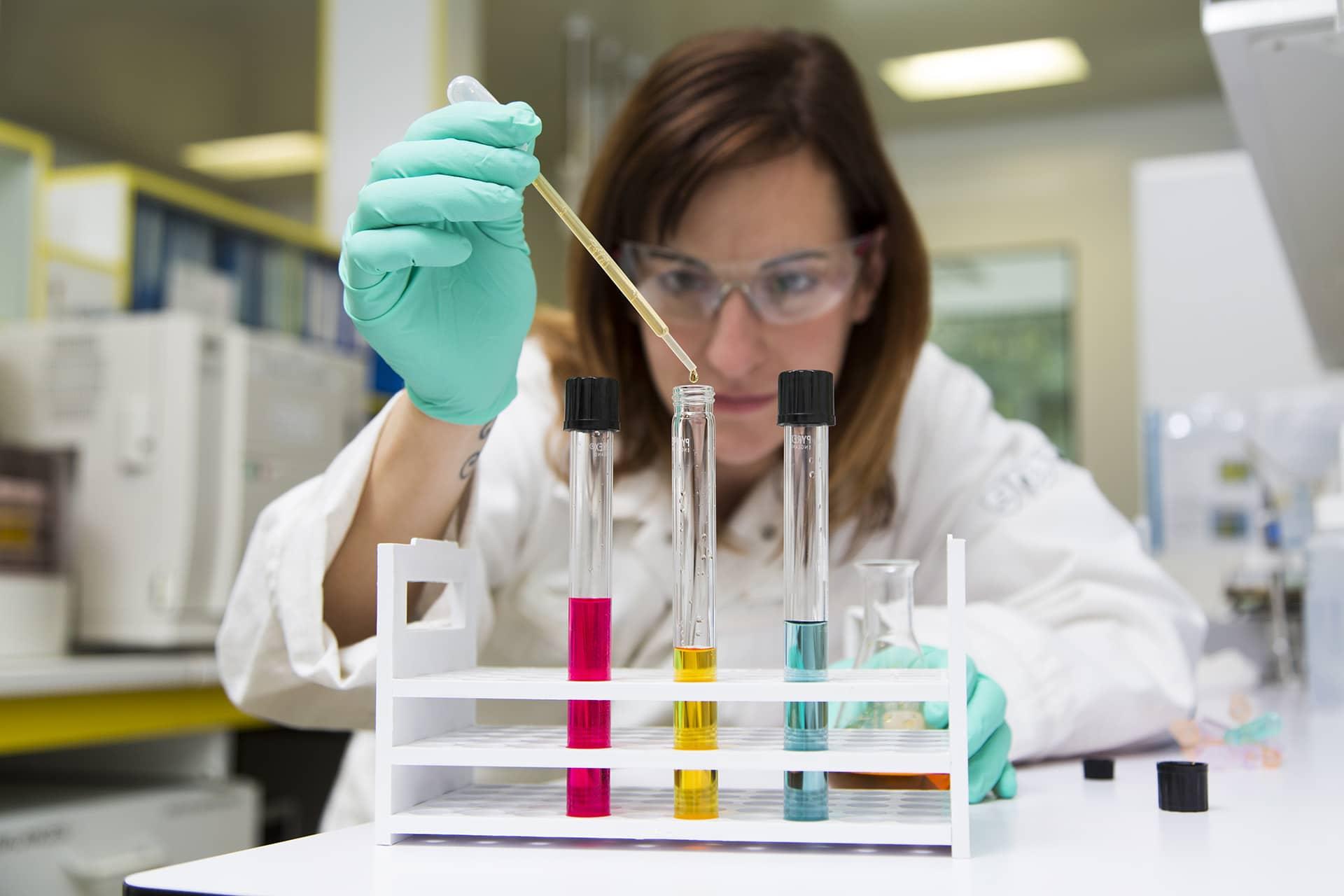 Laboratoire chimie Novasep