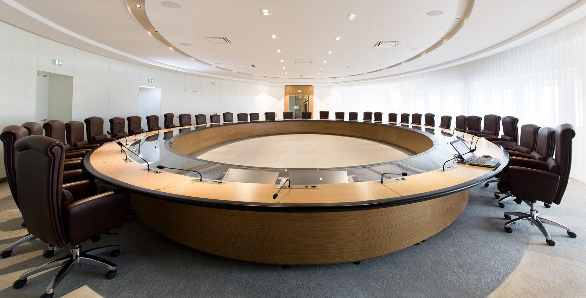 salle de réunion Banque Populaire