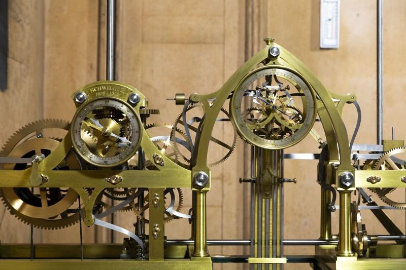 Horloge astronomique rouages Schwilgue