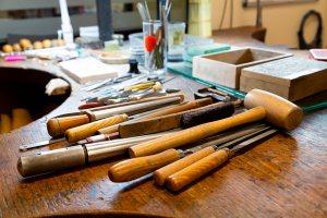 Outils de fabrication d'une bague