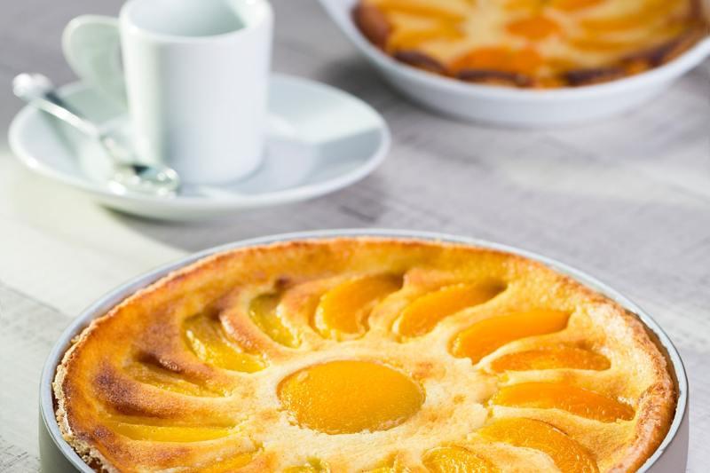 Clafoutis aux abricots et à l'amande