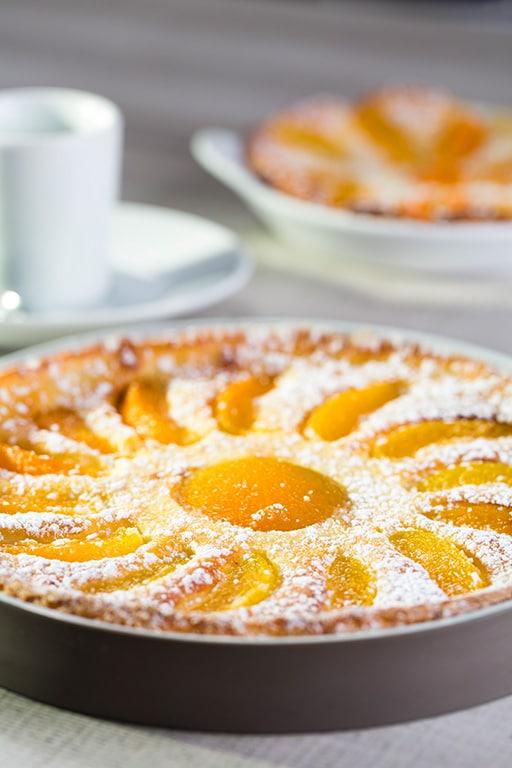 Clafoutis d'abricots