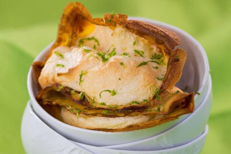 crêpe citron et crème pâtissière