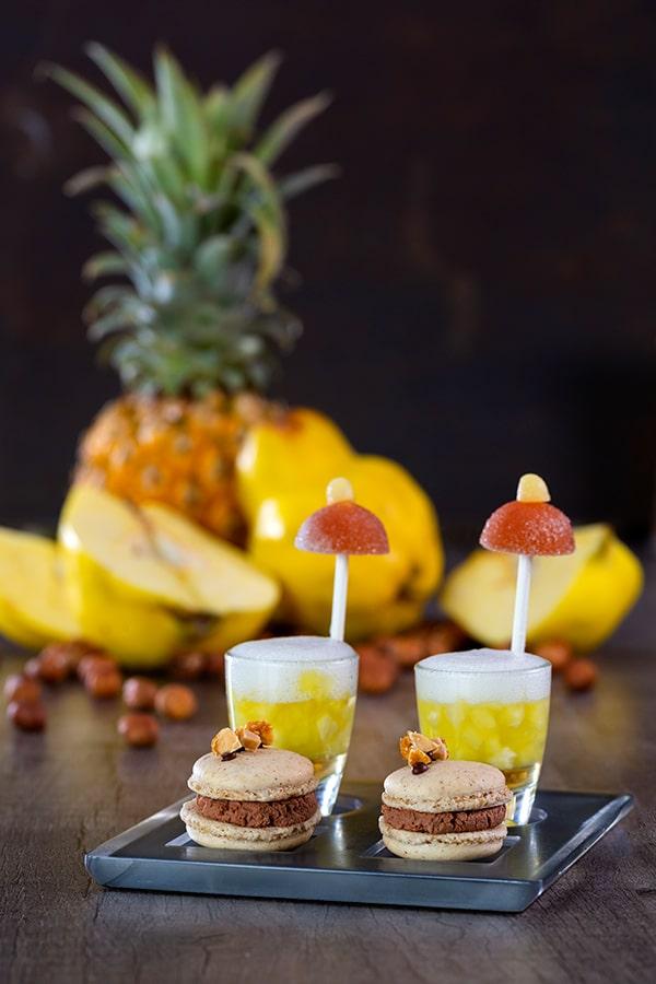 Mignardises ananas Rhum