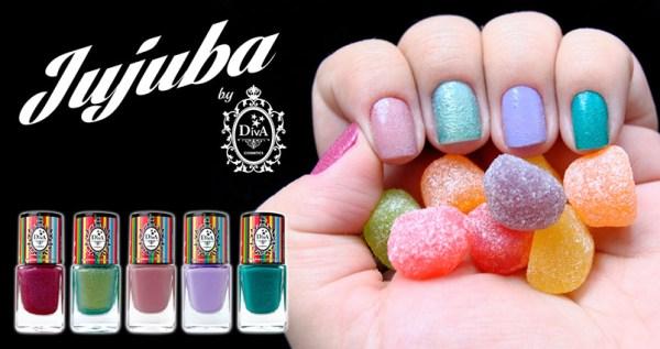 Coleção Jujuba by Diva Cosmetics