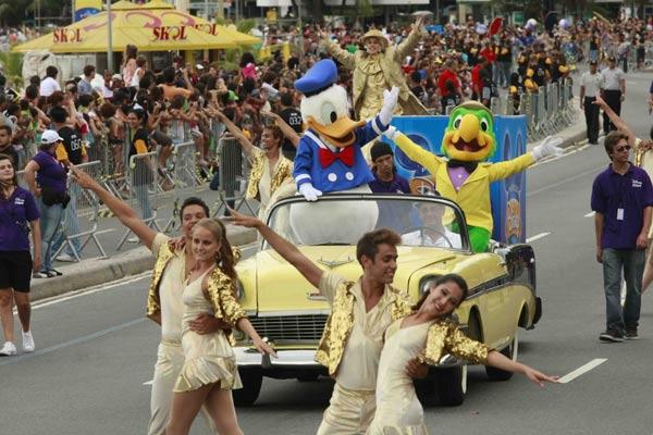 Parada da Disney - Copacabana