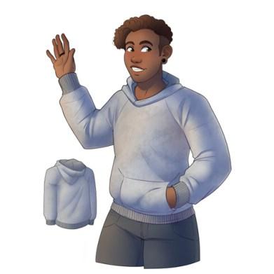 Free Sewing Hugo hoodie