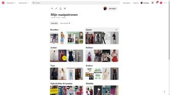 Patroonoverzicht Pinterest