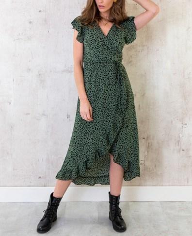 Chiffon polyester jurk