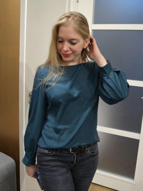 Bonnie op jeans