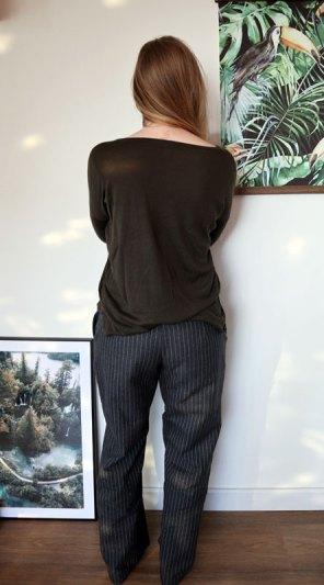 Zelfgemaakte broek