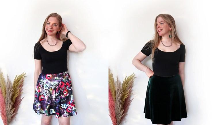 Refashion tutorial jurk naar rok