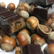 Barres chocolat gianduja orange