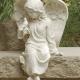 "7.5"" Inspirational Sitting Cherub Angel"