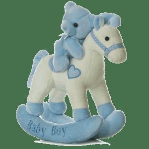 Baby Boy Musical Rocking Horse