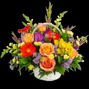 Basket of Beauty Bouquet