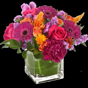 Magenta Sunset Bouquet