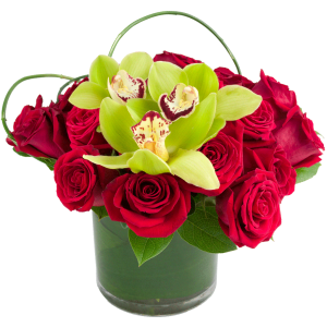 Red Rose Symphony Bouquet