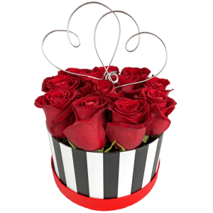 Loving Heart Box Bouquet