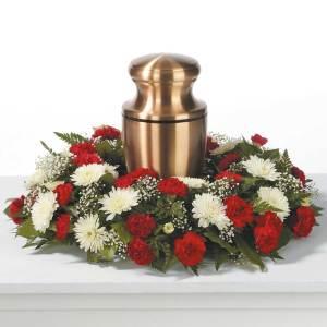 Cremation Wreath Arrangement