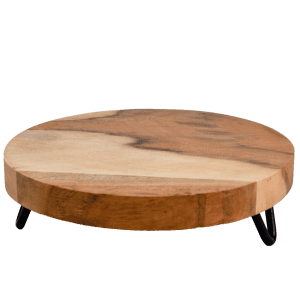 """9"""" Wooden Plant Stand"""