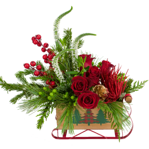 Sleigh the Holiday Bouquet