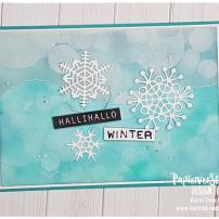 Karins Kreativkiste PapierverSUchung Winterkarte