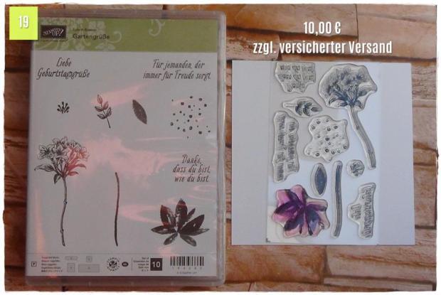 SAB Gartengrüße (10,00 Euro zzgl. Versand)