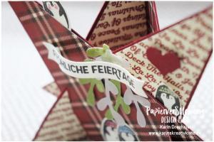 Sternenkarte Leuchtende Weihnachten Karins Kreativkiste Detail 2 WZ