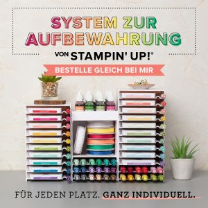 2019-04 Aufbewahrungssystem StampinUp Karins Kreativkiste Bild