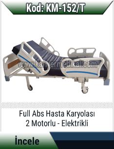 2 motorlu elektrikli hasta yatağı