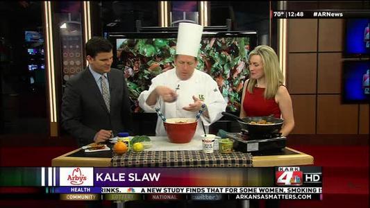Chef Franklin Dye Makes Kale Slaw_3501984887406611533