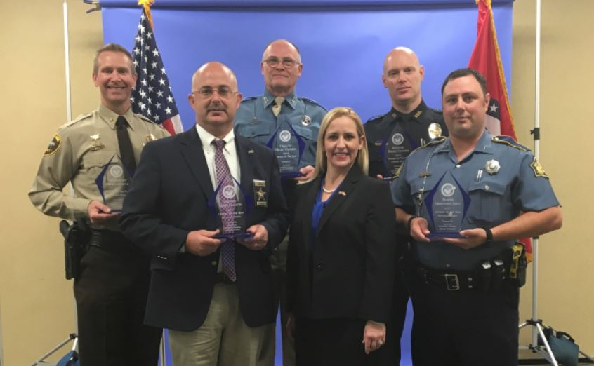 Marion Co  Deputy Named Law Enforcement Officer of the Year