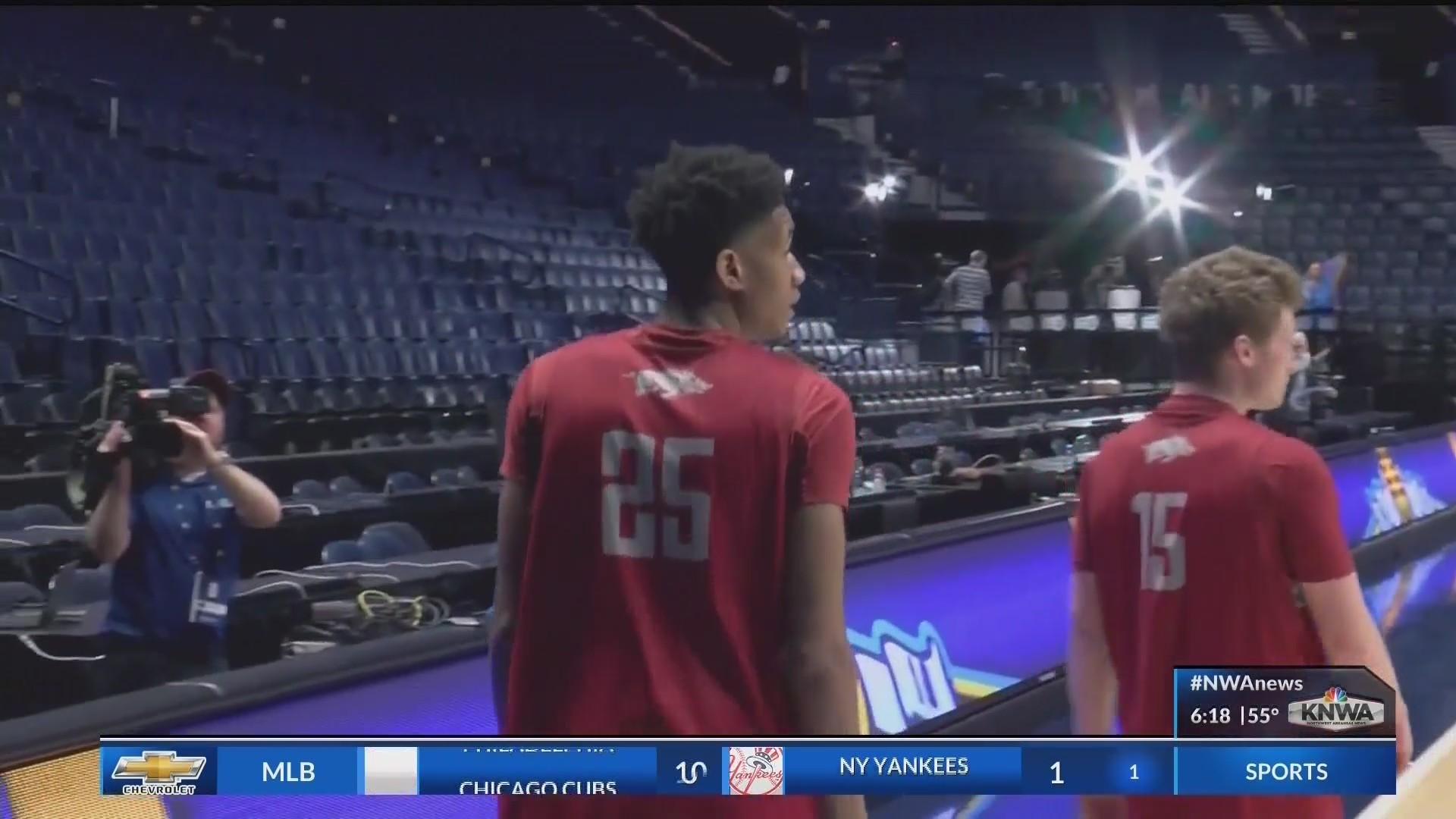 Arkansas Falls to Florida In The SEC Tournament 66-50