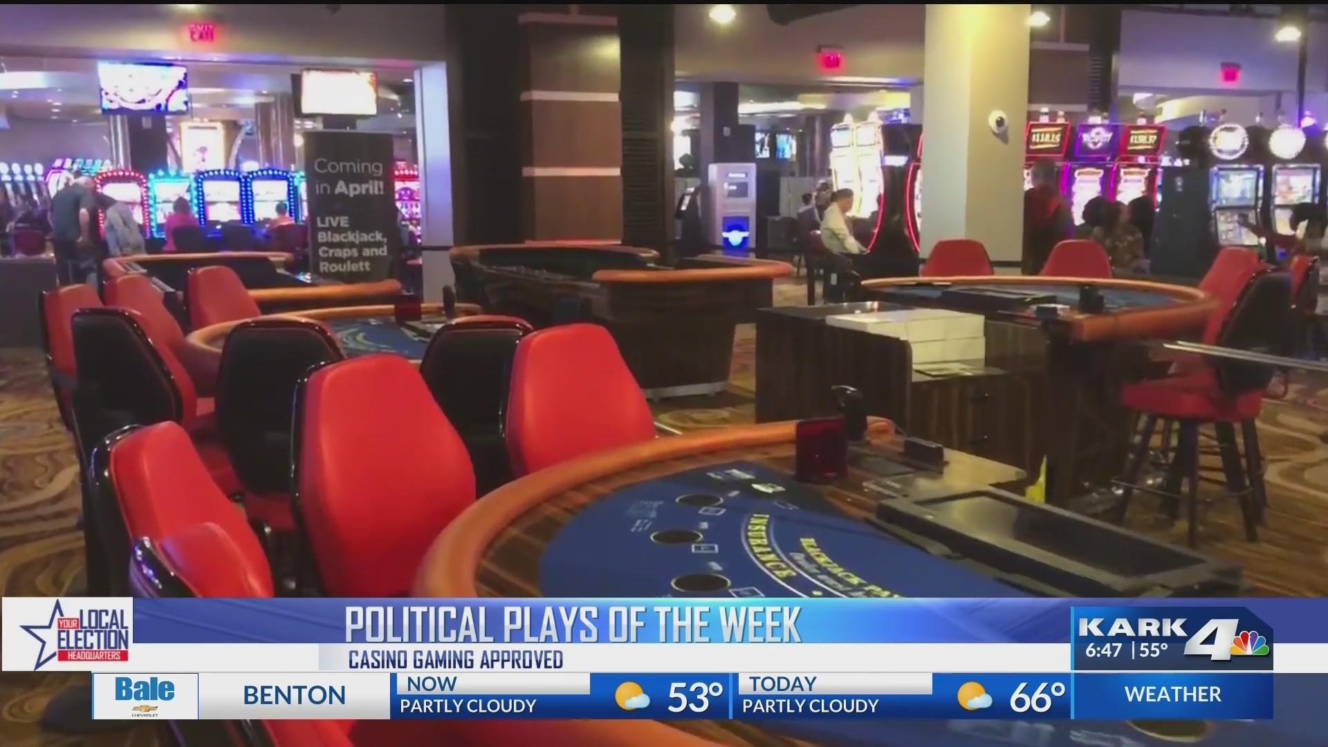 Political Plays - Mueller Report & Casino Gaming