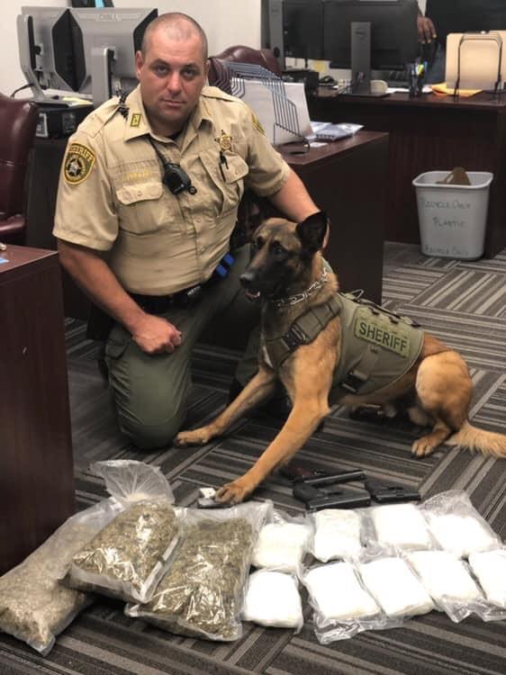 Pulaski County Sheriff's Office: drugs seized in three raids