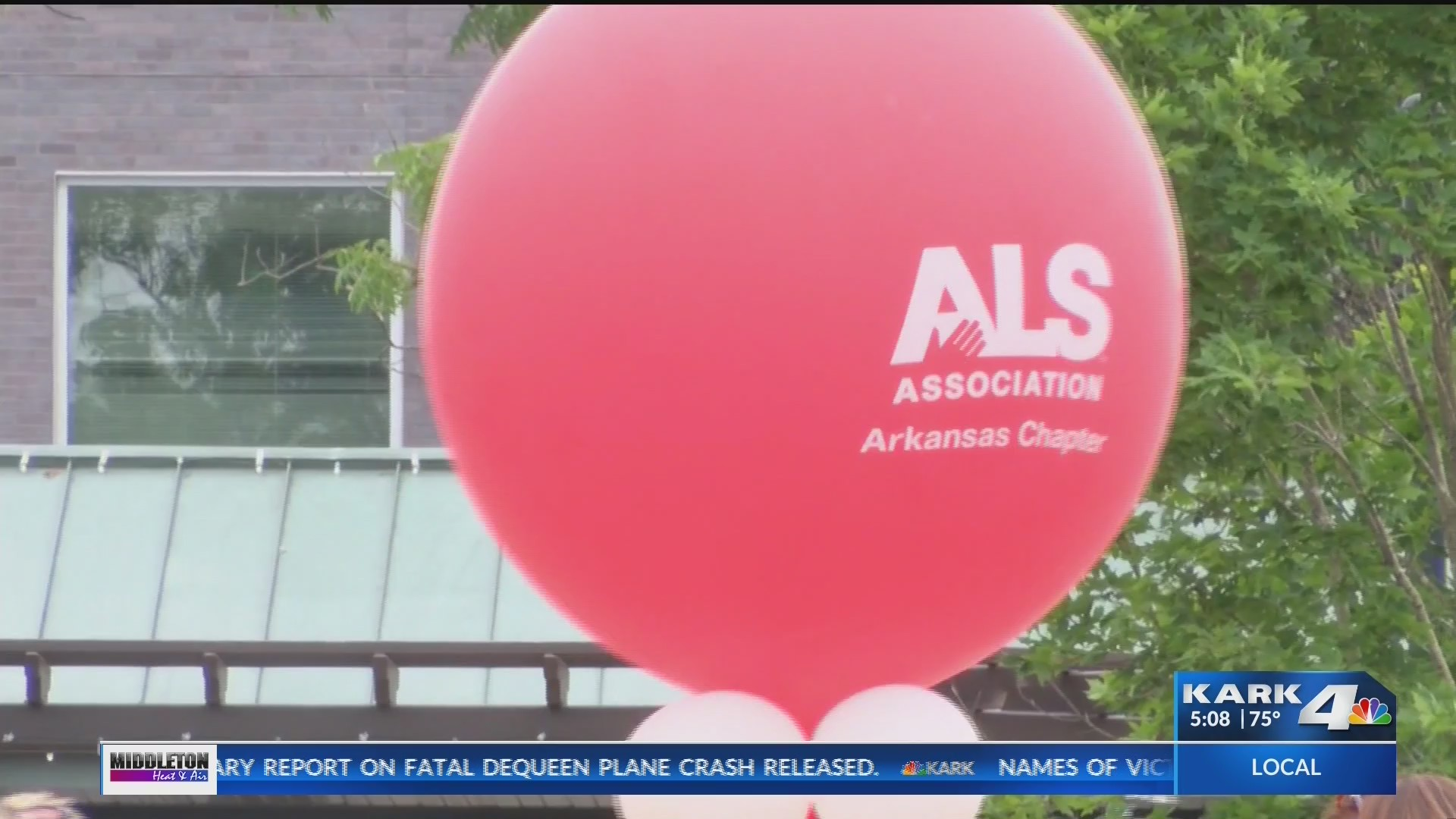 Fort Smith man in ALS clinical trial, symptoms dramatically