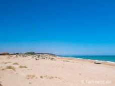 Sizilien Strand Gela