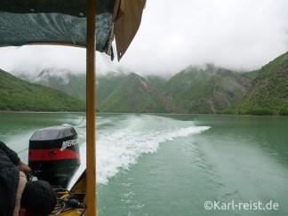 Albanien Koman Lake