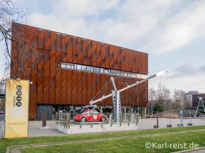 Hauptgebäude vom Bremen Universum