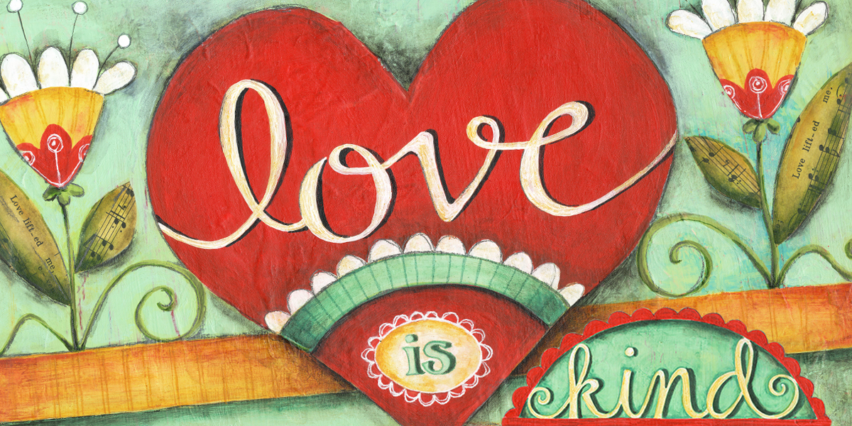 Love Is Kind Banner