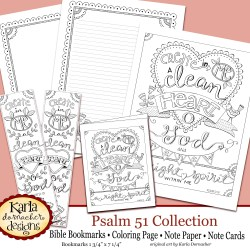 Psalm 51 Collection Etsy