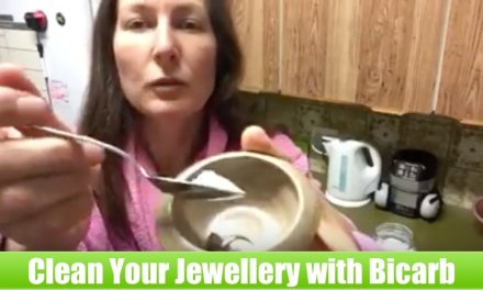 How to Clean your Jewellery with Bicarb