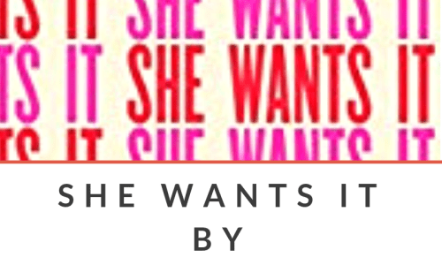 Jill Soloway's SHE WANTS IT – A Brief Review