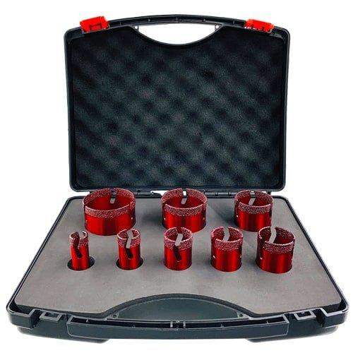 tile drills diamond 8 piece set 20 68 mm art 50254