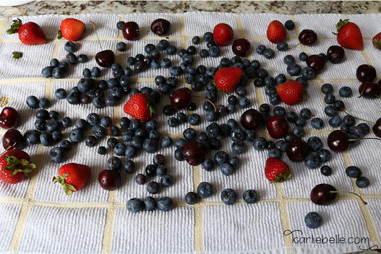 Fruit Vinegar wash