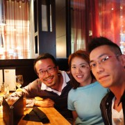 Ricky, Cheryl and me