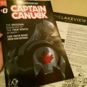 Captain Canuck comic book