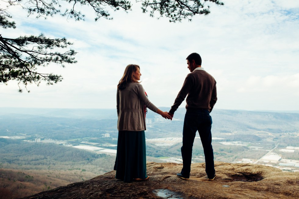 500px Photo ID: 132718597 - On the top of Sunset Rock in Georgia with this lovely couple.